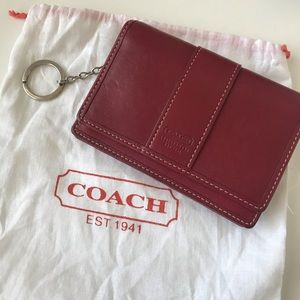 Authentic Coach mini wallet